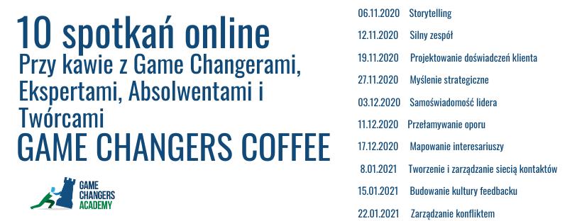 game changers coffee gca - Game Changers Academy